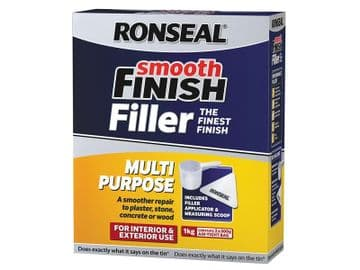 Smooth Finish Multipurpose Wall Powder Filler 1kg